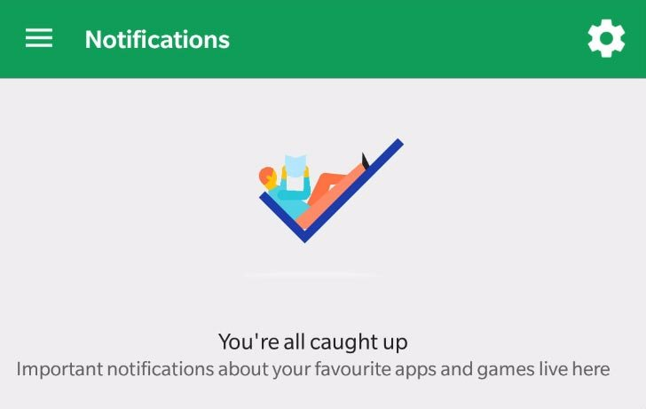 Google Play Store : une nouvelle section Notifications apparaît