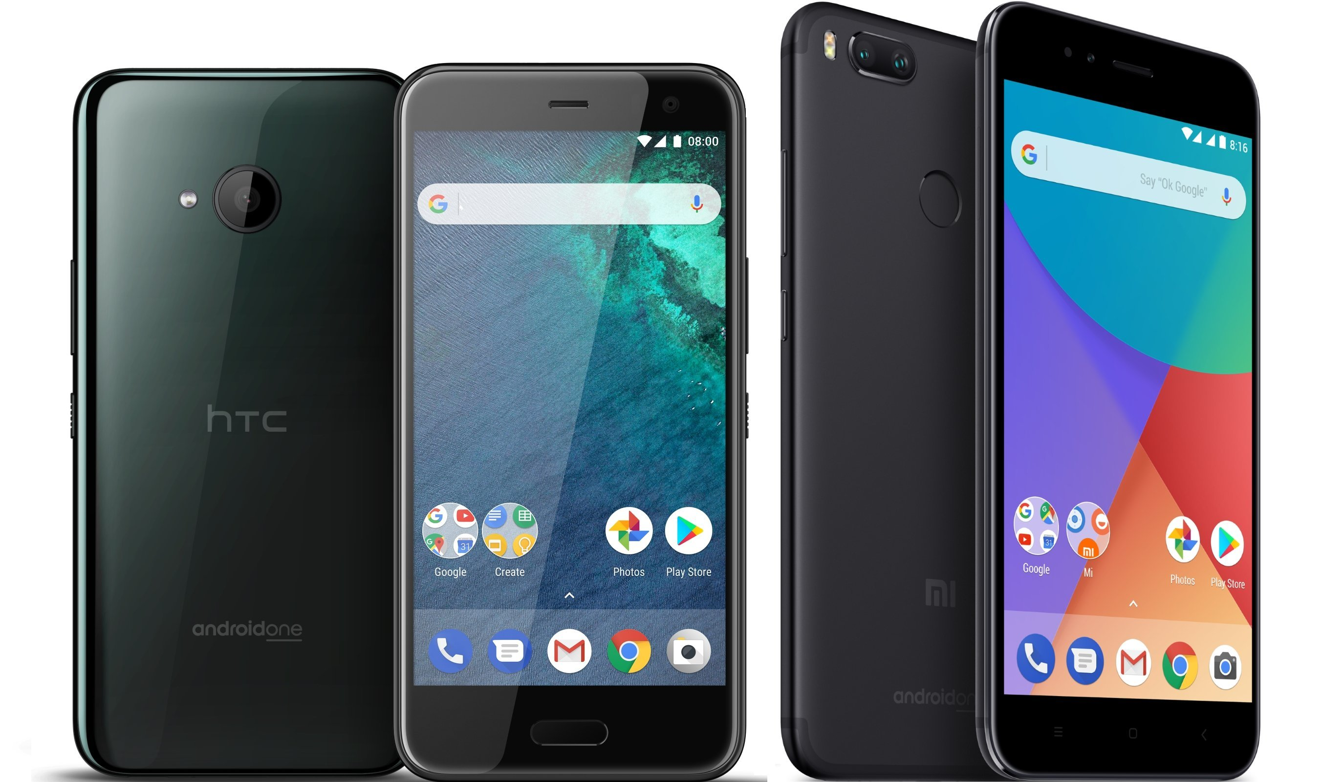 Xiaomi Mi A1 vs HTC U11 Life : quel est le smartphone Android One idéal ?