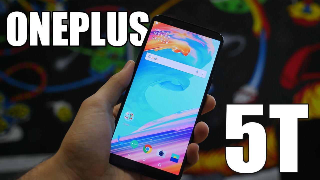 Vidéo : notre prise en main du OnePlus 5T