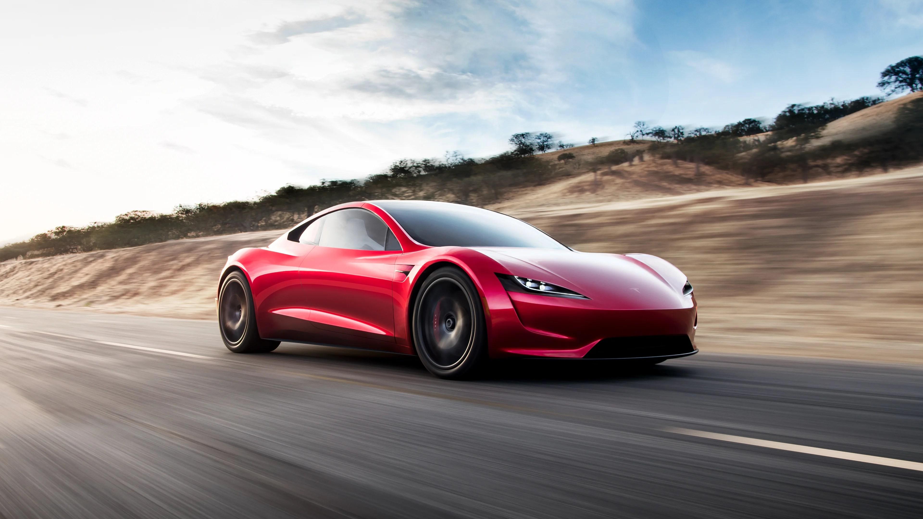 Tesla Roadster : Musk annonce une autonomie à 4 chiffres pour sa supercar électrique