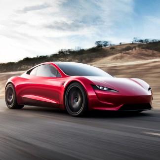Tesla Roadster: une Tesla à 400 km/h!