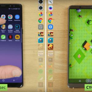 Le Huawei Mate 10 Pro affronte le Samsung Galaxy Note 8: notre speedtest en vidéo