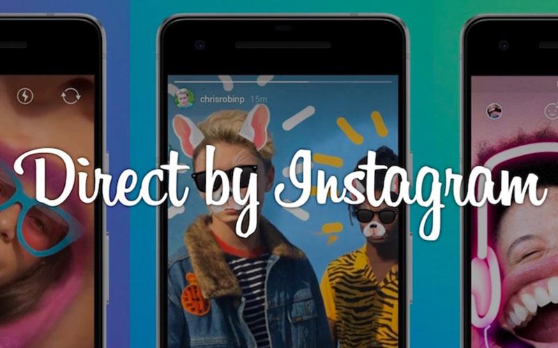 Direct from Instagram veut donner le coup de grâce à Snapchat en l'imitant sans vergogne