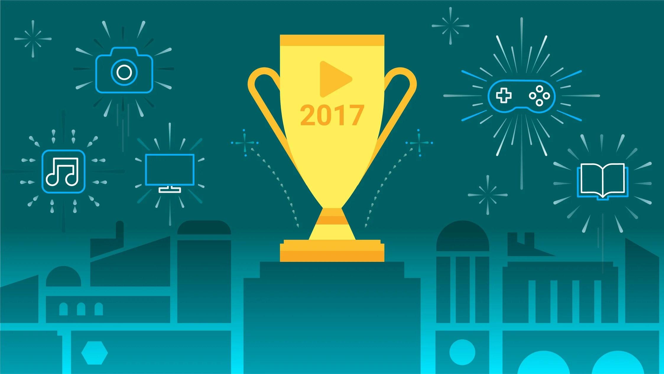 Les meilleurs jeux et apps de 2017 d'après Google