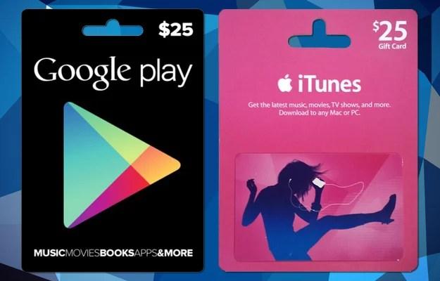 Comment acheter une e-carte Google Play ou App Store/iTunes sur Internet en 2018 ?