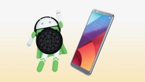 Le LG G6 passe sous Android Oreo fin avril, le G5 et le V20 suivront