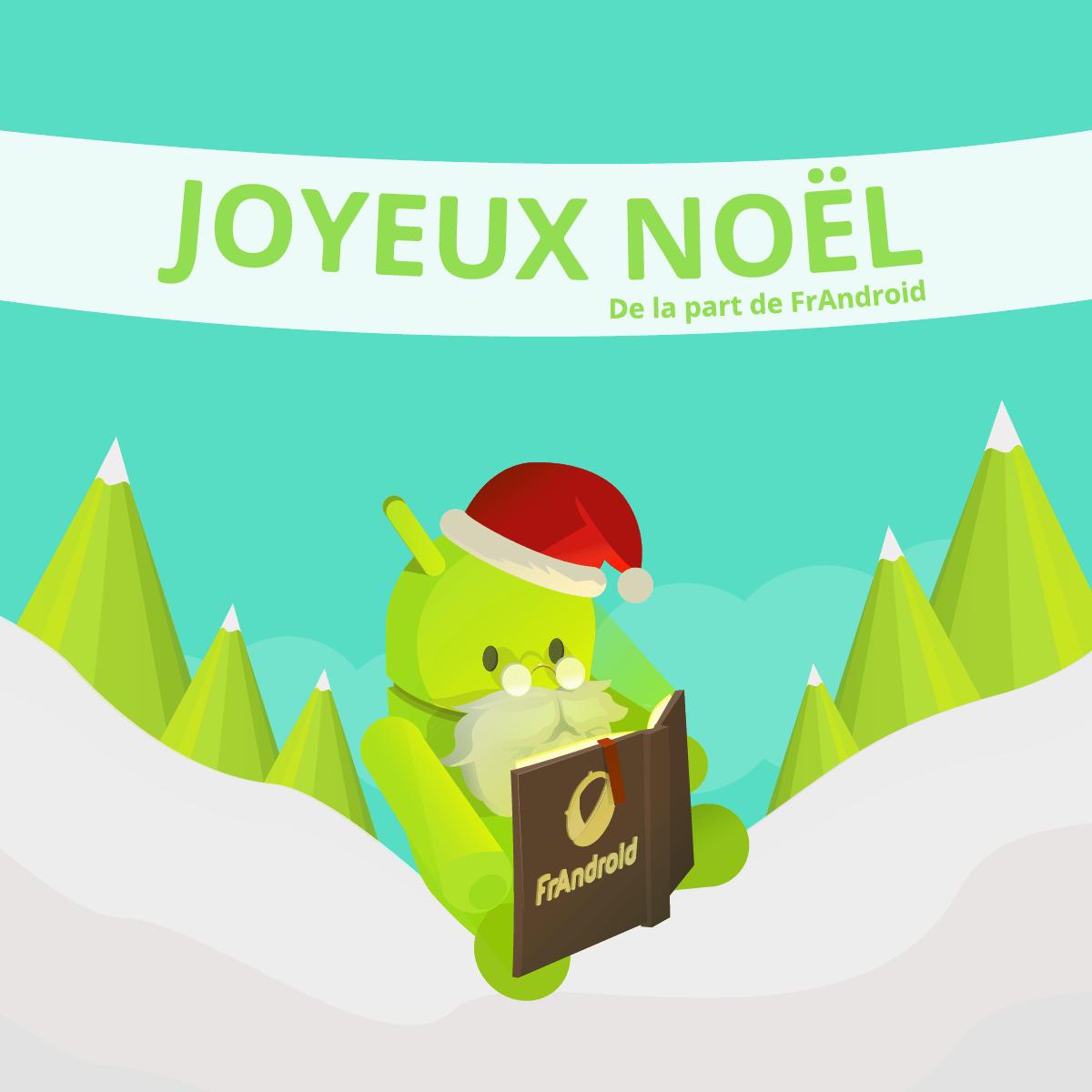 🎄 FrAndroid vous souhaite un Joyeux Noël à tous