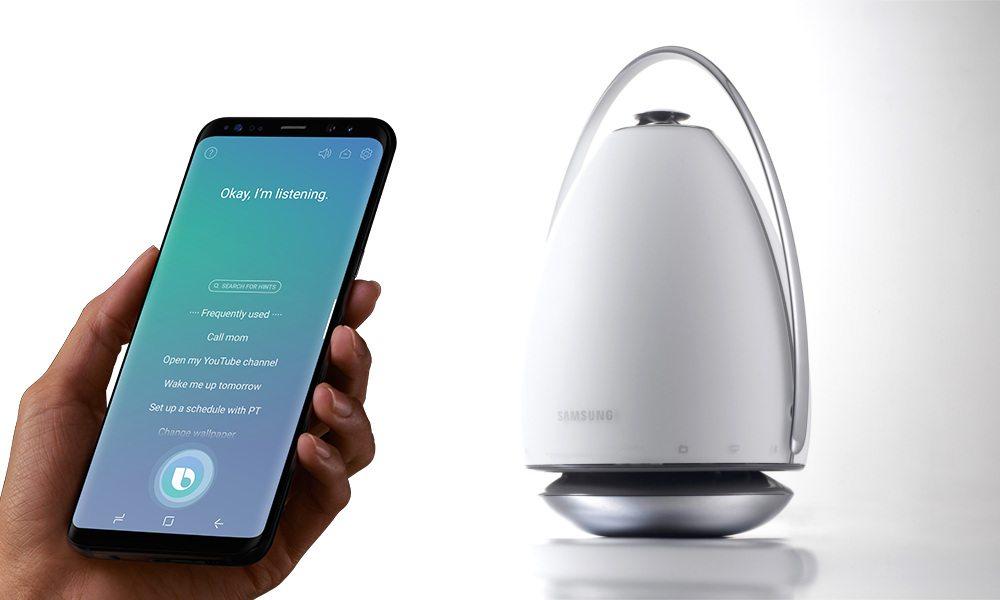 Samsung Bixby, l'enceinte connectée pour 2018