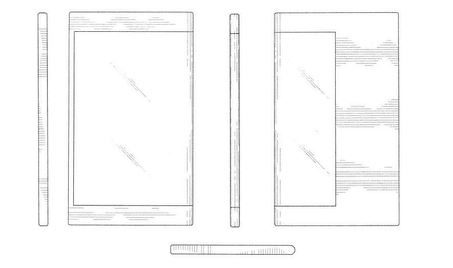 Samsung pourrait utiliser ses écrans flexibles pour prendre d'assaut la face arrière