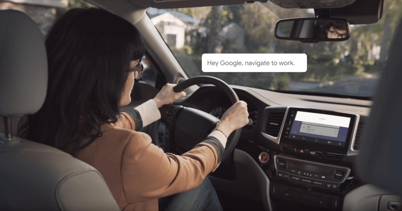 Google Assistant est également sur Android Auto