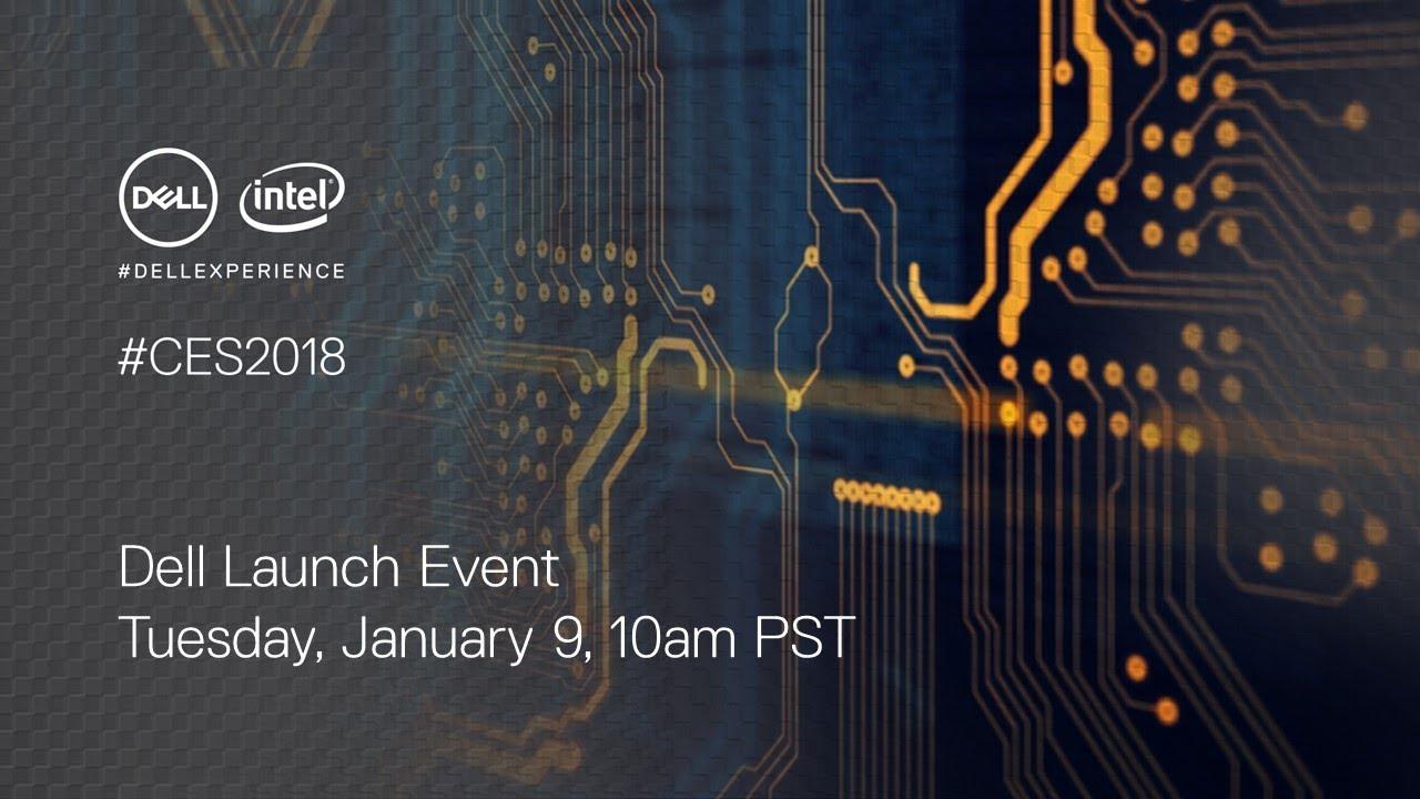 CES 2018 : comment suivre la conférence Dell en direct à 19 heures