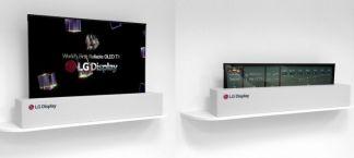 CES 2018 : LG dévoile une TV OLED de 65 pouces qui s'enroule littéralement dans sa base
