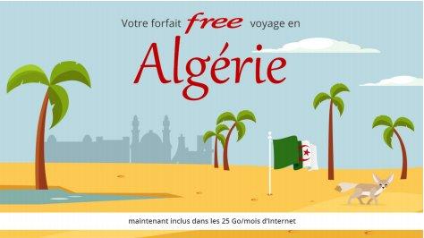 Free Mobile : l'Algérie intègre à son tour le forfait international