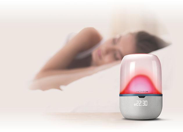 CES 2018: Homni, la lampe colorée qui vous aide à mieux dormir