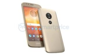 Motorola Moto E5, le capteur d'empreintes fera son apparition sur un smartphone à petit prix
