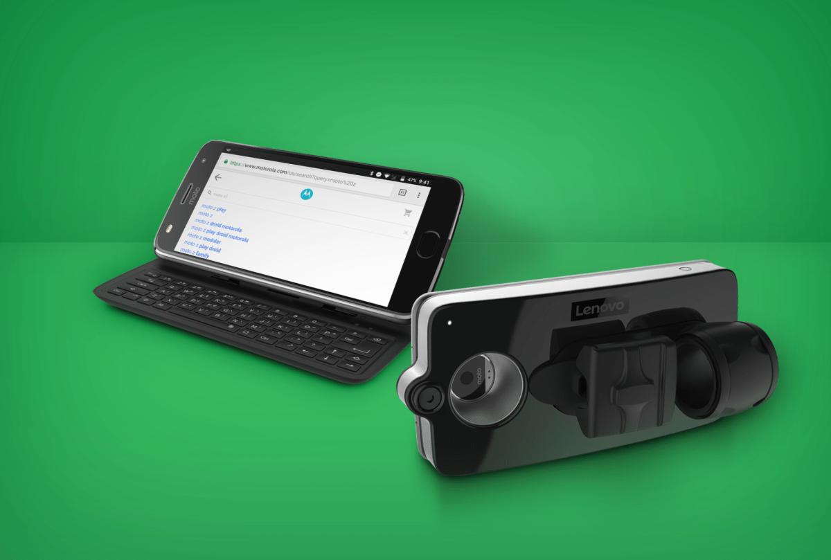 Moto Mods : deux nouveaux accessoires annoncés, dont un clavier physique
