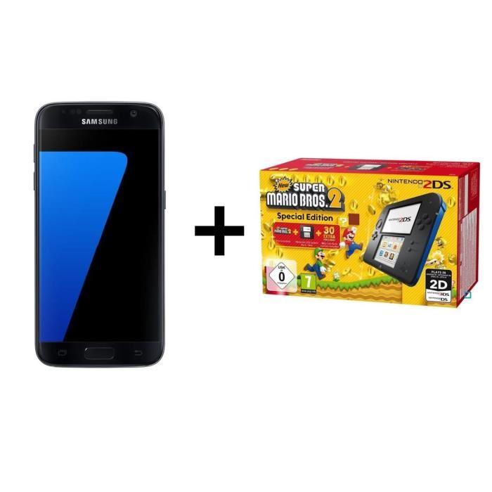 🔥 Soldes : le Samsung Galaxy S7 Edge avec une 2DS & New Super Mario Bros 2 à 449 euros