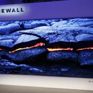 Samsung The Wall : 146 pouces pour une TV grâce aux Micro-LEDs, belle démonstration au CES 2018