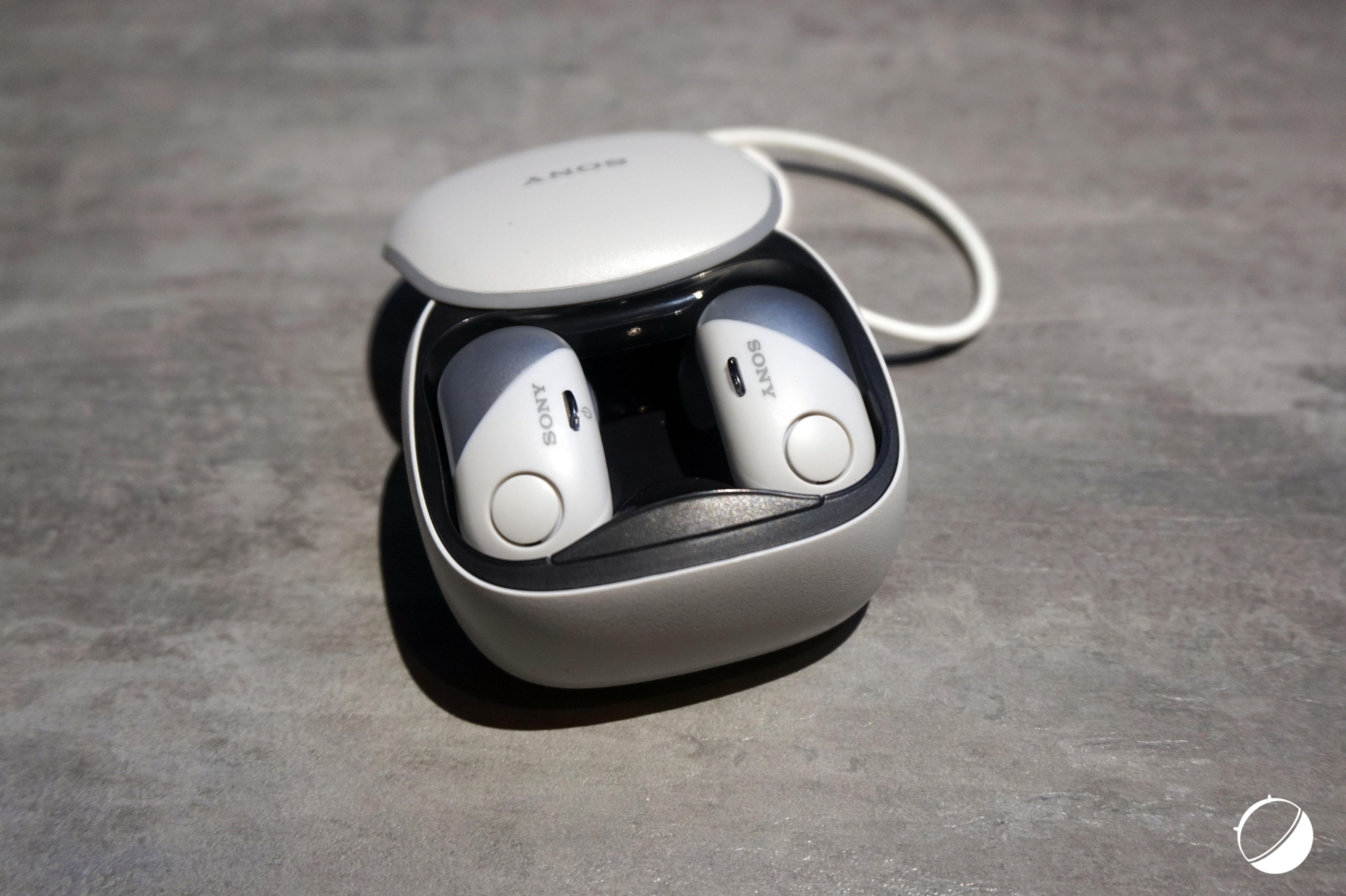 CES 2018: Sony dévoile des écouteurs sans fil avec suppression de bruit et résistance à l'eau