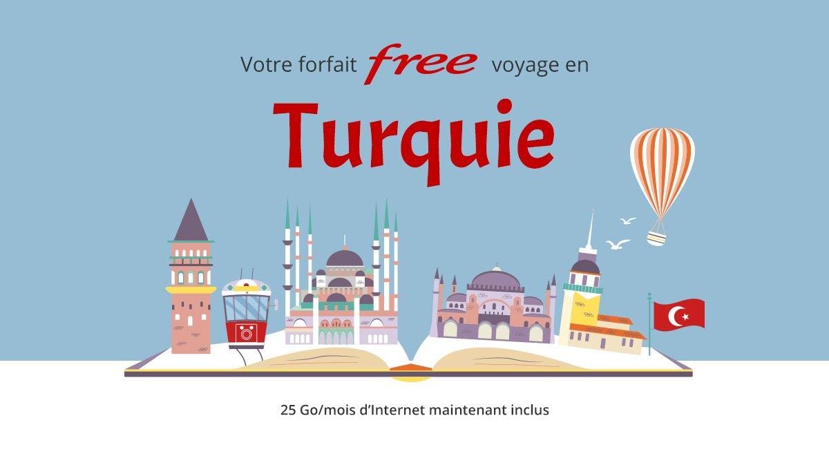 Free Mobile : l'itinérance partielle en Turquie désormais incluse