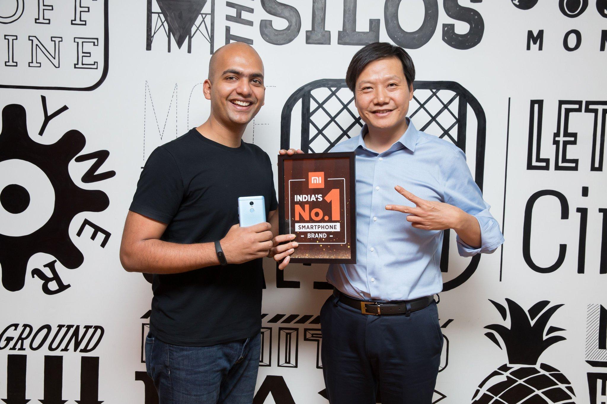 Xiaomi premier des ventes en Inde, Samsung réfute