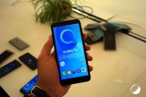 Android Oreo Go arrive en France avec un nouveau smartphone Alcatel à 100 euros