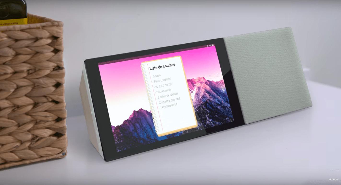 Archos emboîte le pas à LG et Lenovo et prépare un Smart Display avec Google Assistant