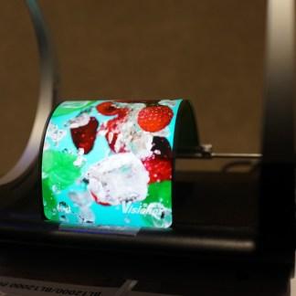 Vidéo : voici l'écran OLED du prochain smartphone flexible de Doogee (et probablement celui de Samsung)