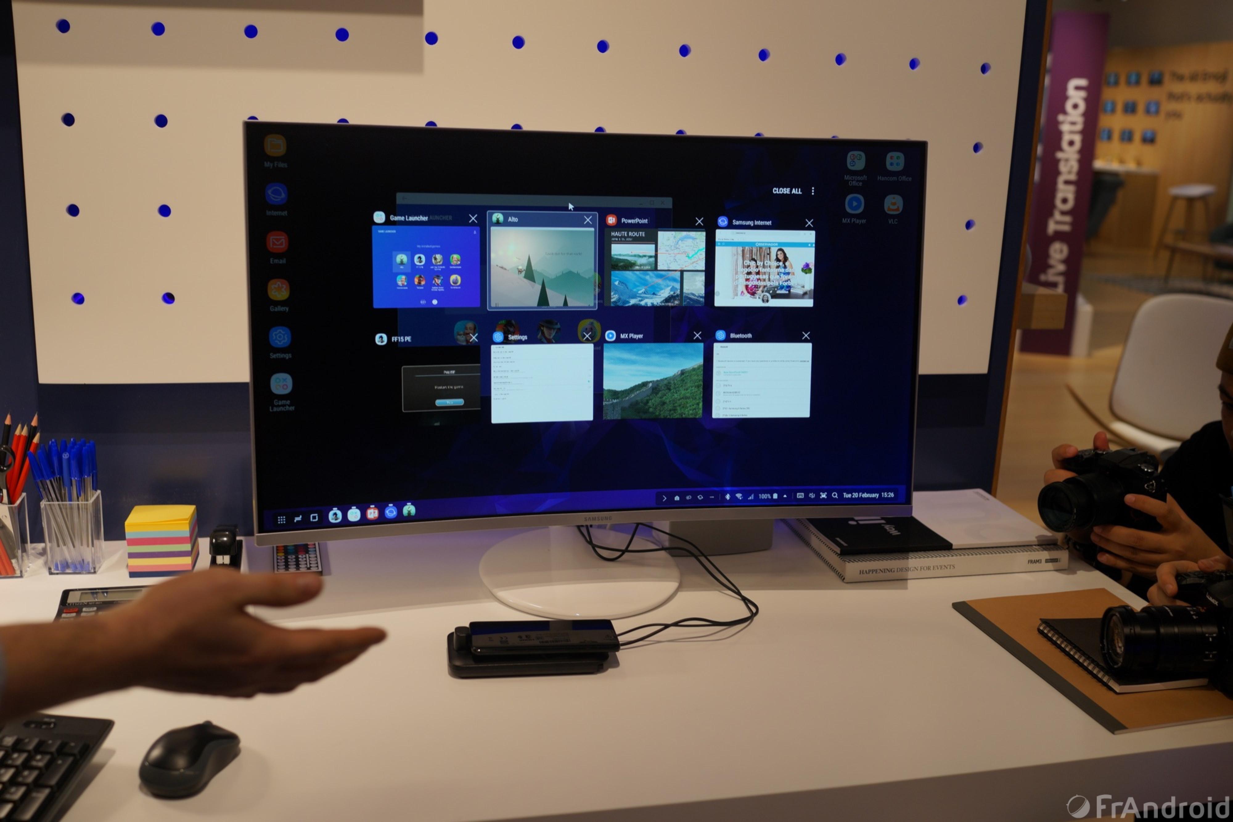 Galaxy S9 : Samsung DeX est revu, avec une nouvelle station d'accueil et de nouvelles fonctions