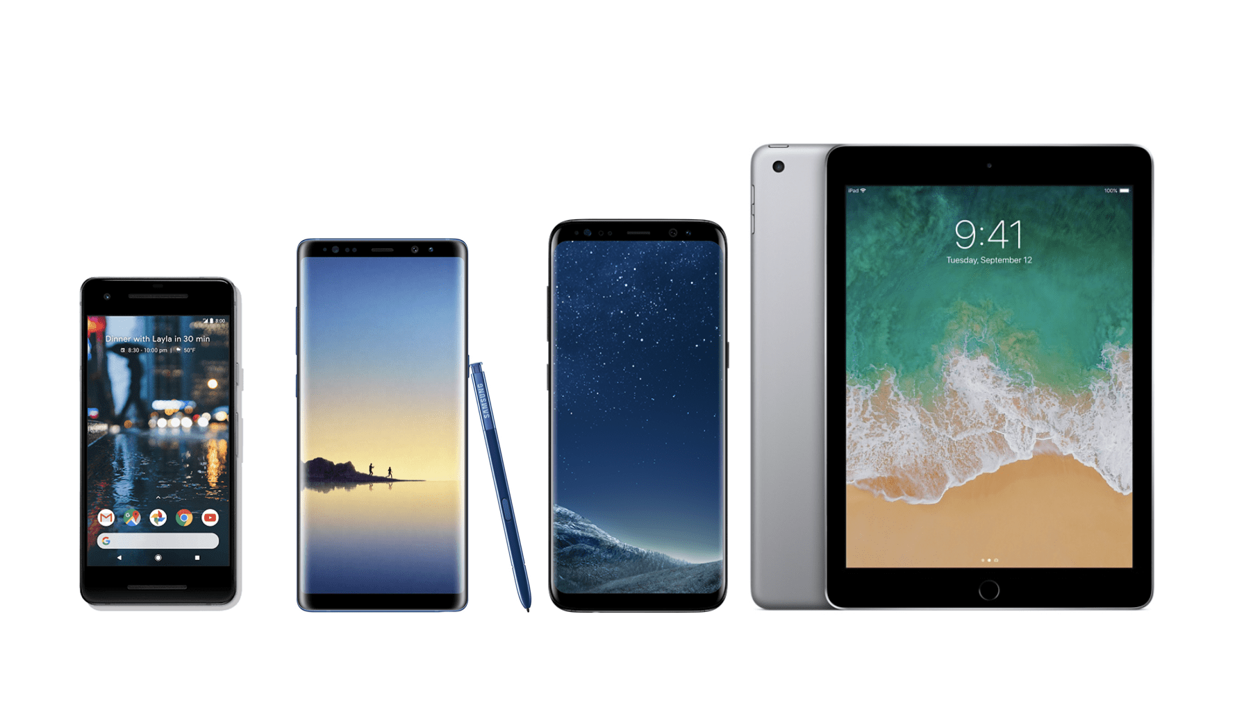 🔥 Bons plans de la semaine : Galaxy S8+, Galaxy Note 8, iPad 2017 et Google Pixel 2 XL en promotions