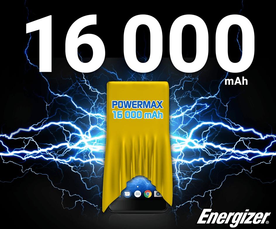 Energizer promet un smartphone avec une batterie de 16000 mAh au MWC 2018