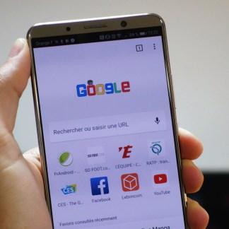 Chrome sur Android: envie de consulter votre historique en un geste? C'est prévu