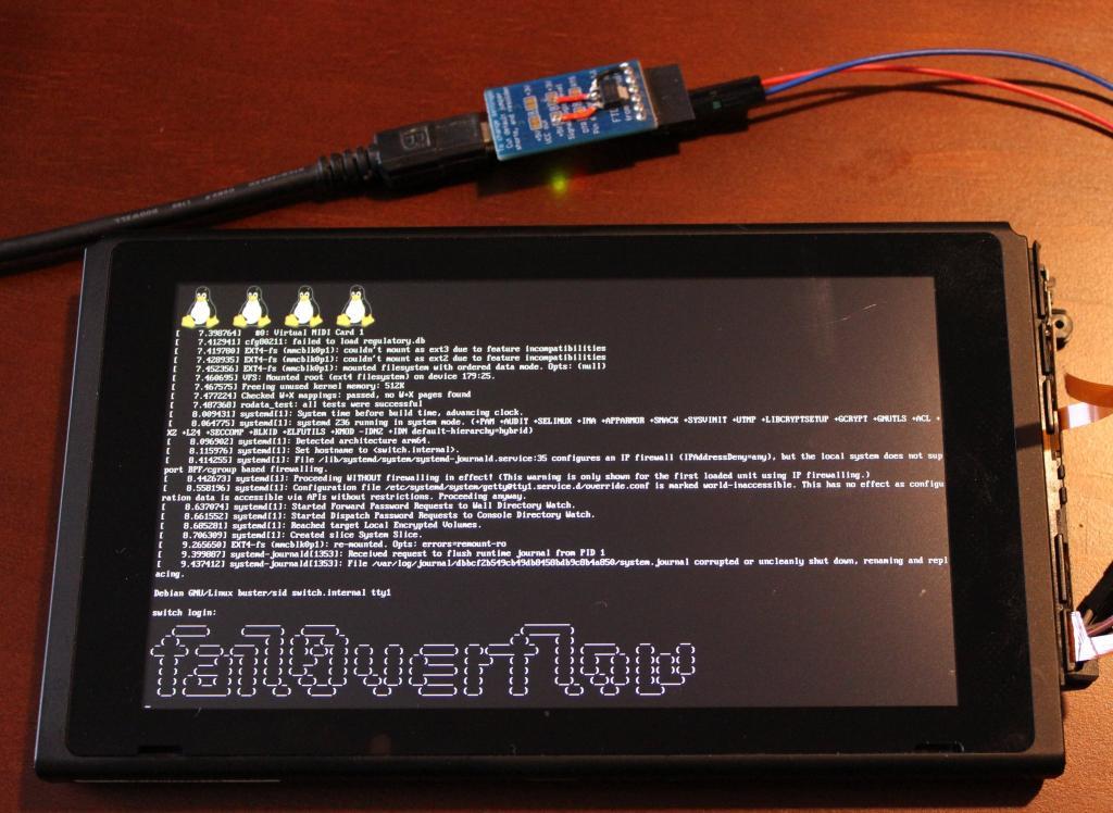 Nintendo Switch : des hackers installent Linux, la faute au Tegra X1 de Nvidia
