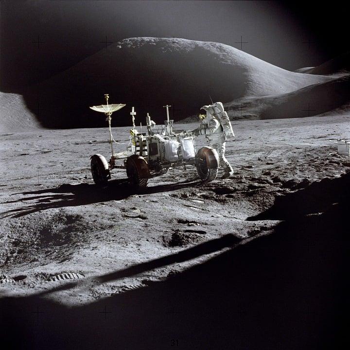 La Lune va avoir son propre réseau 4G, ne soyez pas jaloux