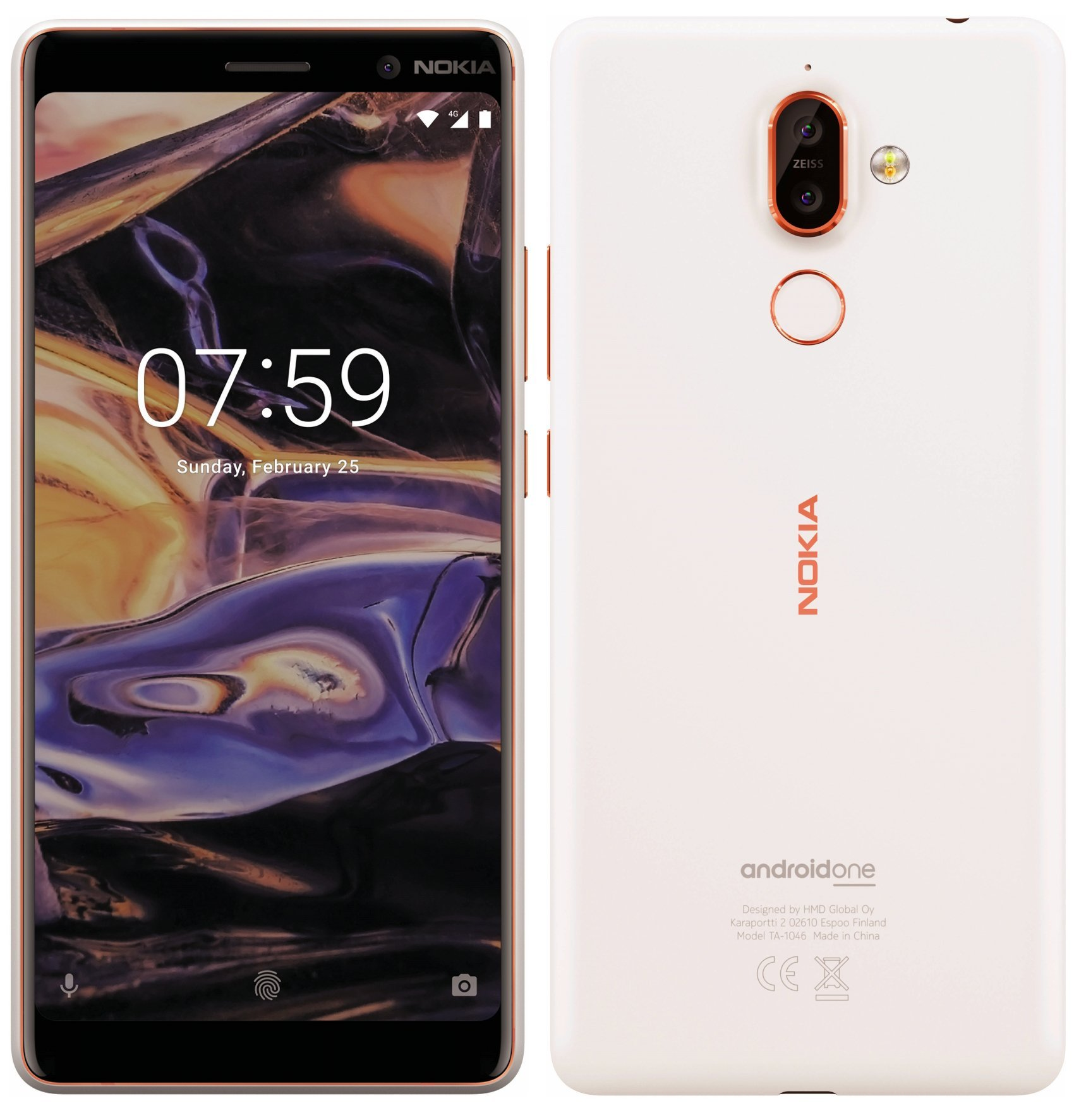 Nokia 1 et Nokia 7+ : une image presse pour le premier et une photo en main pour le second