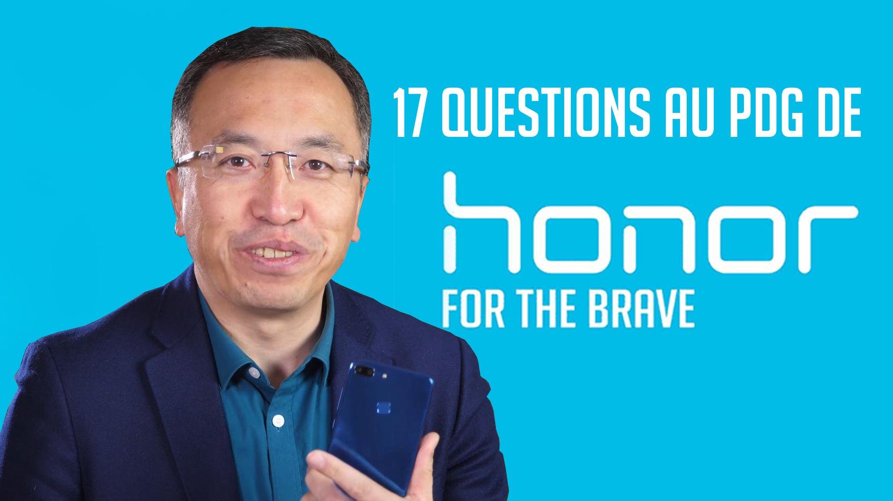 Découvrez en vidéo les réponses de George Zhao à vos questions