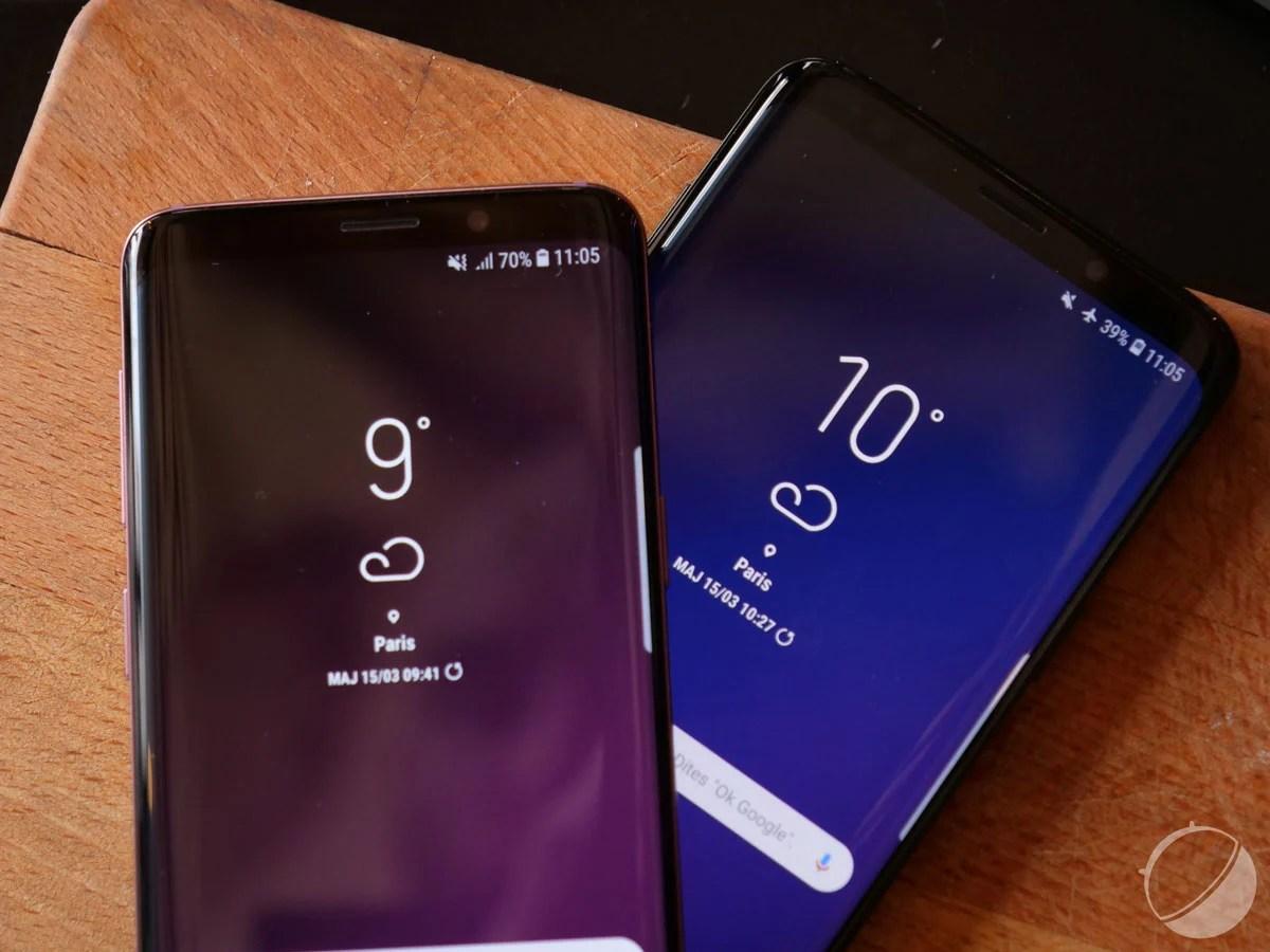 Samsung Galaxy S9 et S9+: Android 10 se déploie en France