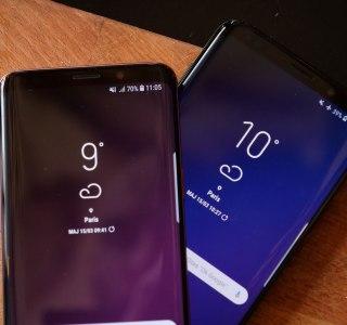 Samsung Galaxy S9 et S9+ : Android 10 se rapproche un peu plus