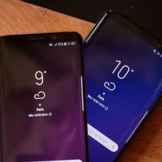 Android 9 Pie : voici un premier aperçu de la mise à jour sur Samsung Galaxy S9 et S9+