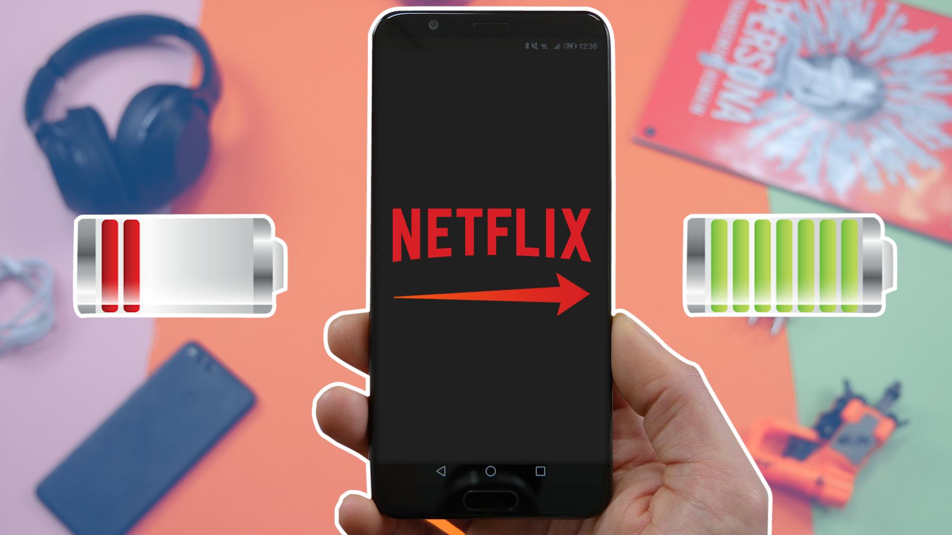 Vidéo : nos astuces pour optimiser sa batterie sur Netflix