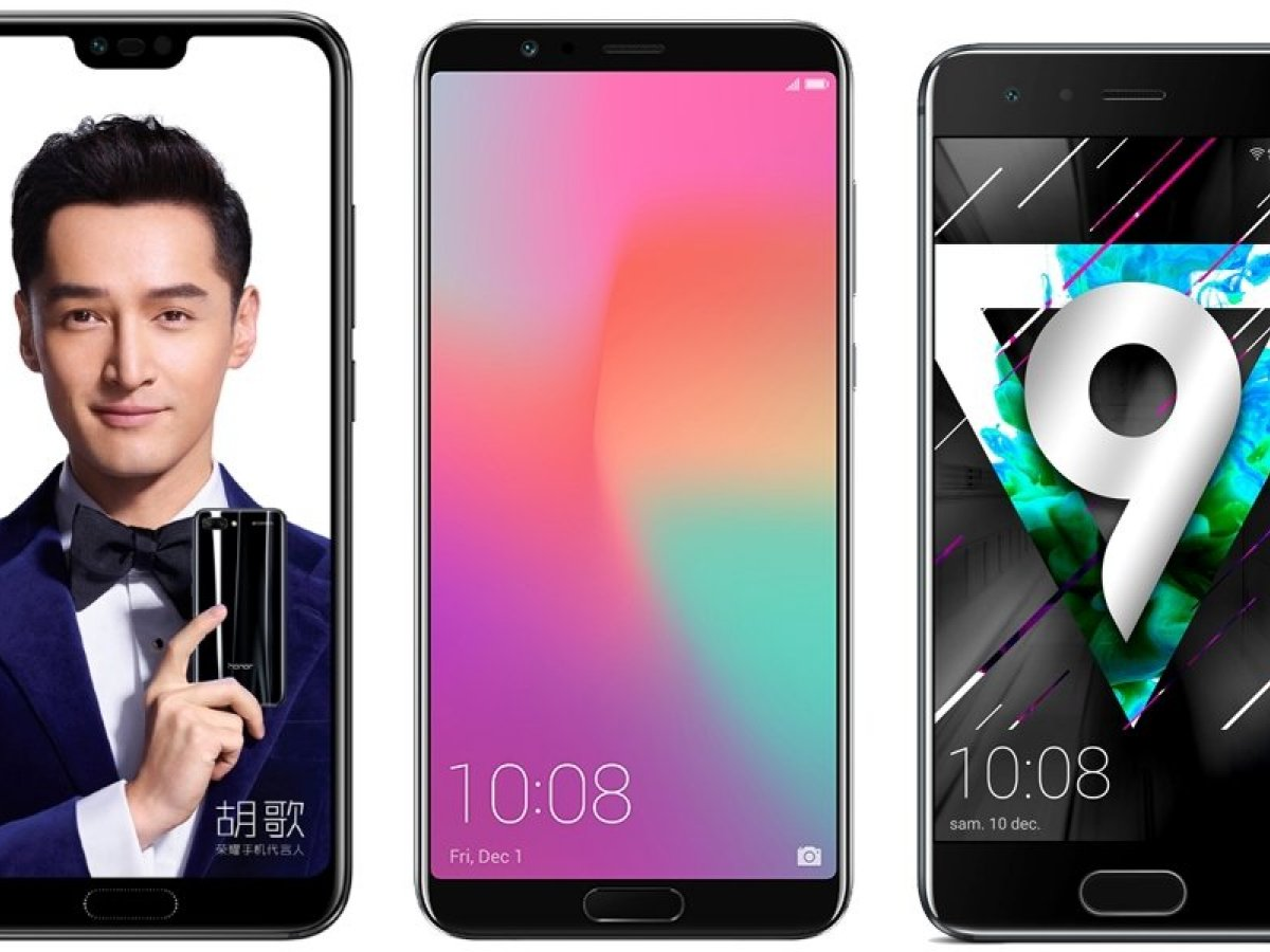 Honor 10 vs Honor View 10 vs Honor 9 : un nouveau bond en avant