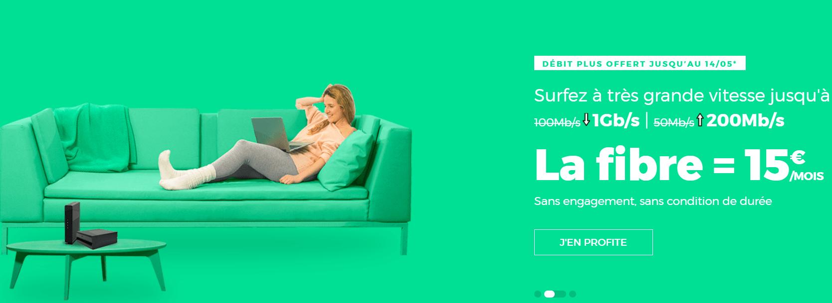 🔥 Bon plan : box Fibre/ADSL 1Gb/s pour 15 euros par mois à vie chez RED by SFR