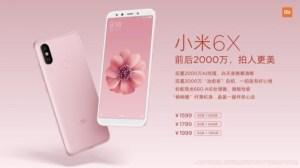 Xiaomi Mi 6X officialisé : de belles promesses en photo pour un prix abordable