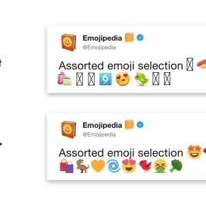 Fragmentation d'Android : face aux incompatibilités des emojis, Twitter prend les choses en main