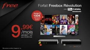 Freebox Révolution : une vente privée sur la meilleure box du FAI avec TV by Canal