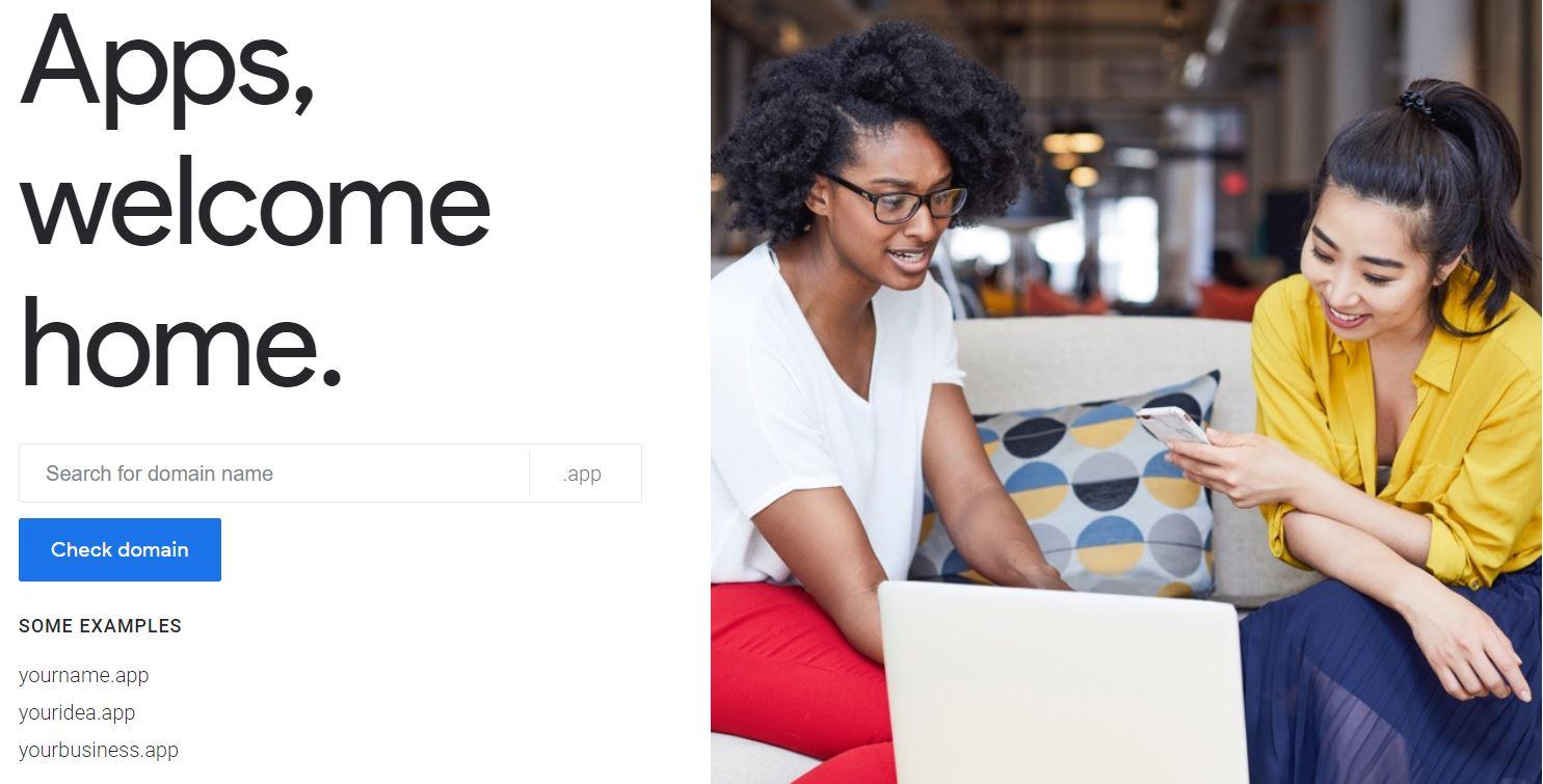 Avec les domaines .app, Google veut contrôler les sites web d'applications