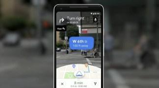Google Maps se met à l'AR pour faciliter la navigation et aux suggestions personnalisées – I/O 2018