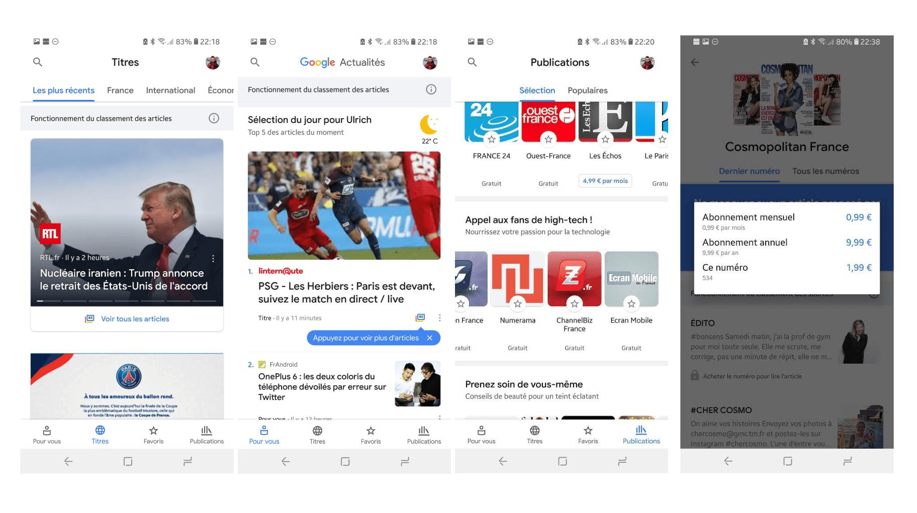 Le nouveau Google News est disponible sur le Play Store : comment Google veut sauver la presse