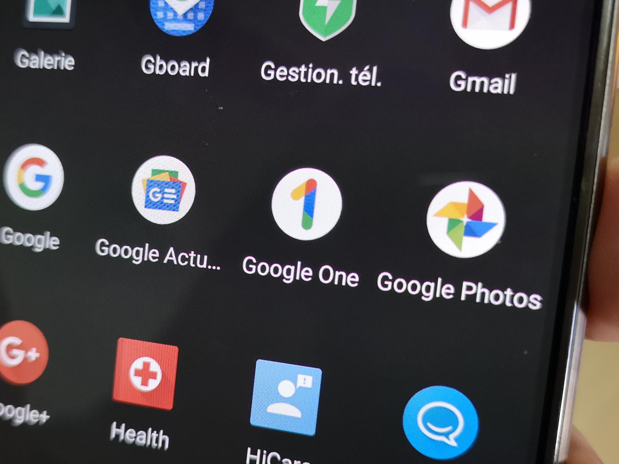 Google One: la nouvelle application est déjà disponible sur le Play Store, mais pas encore prête