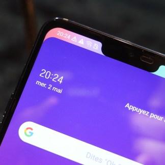 LG affirme ne pas avoir copié Apple pour le notch